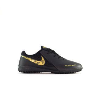 NK FANTOM VSN BLACK AND GOLDEN SPORTS SHOES FOR MEN