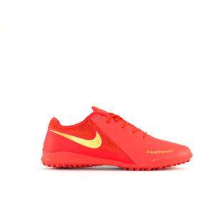 NK FANTOM VSN RED AND GOLD SPORTS SHOES FOR MEN