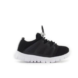 AD BLACK MESH SNEAKERS FOR KIDS