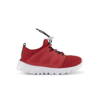 AD RED MESH SNEAKERS FOR KIDS