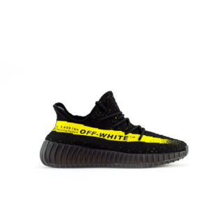 KANYEEZY 350 BLACK RUNNING SHOES FOR WOMEN