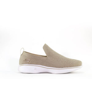 GO WALK FOUR BEIGE SNEAKERS FOR WOMEN