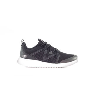 U FLEX BLACK RUNNING SHOES FOR WOMEN