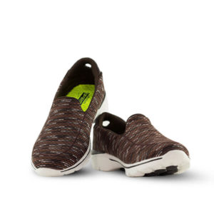 Go Walk Three Brown Sneakers For Women