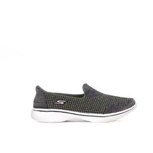 SKC GO WALK THREE GREY SNEAKERS FOR WOMEN