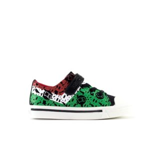 FD Black Stylish Sneakers For Kids
