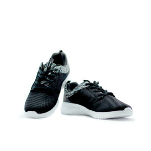 PM Suede Black Sneakers For Women