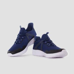 Summer Crush Burst Blue Sneakers For Men