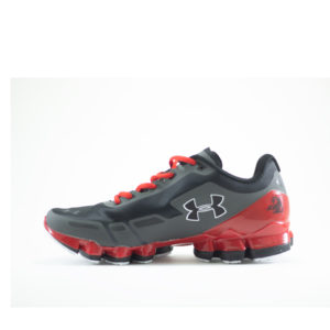 UA Black and Red Sports Shoes For Men