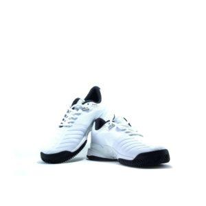 White Athletic Edge Running Shoes for Men