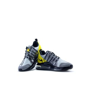 YELLOW AND GREY AIR DYNAMIC RUNNING SHOES